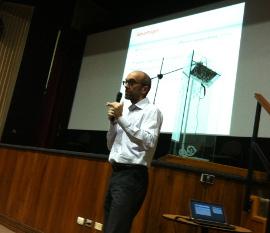 Stefano speech at ESPOL University