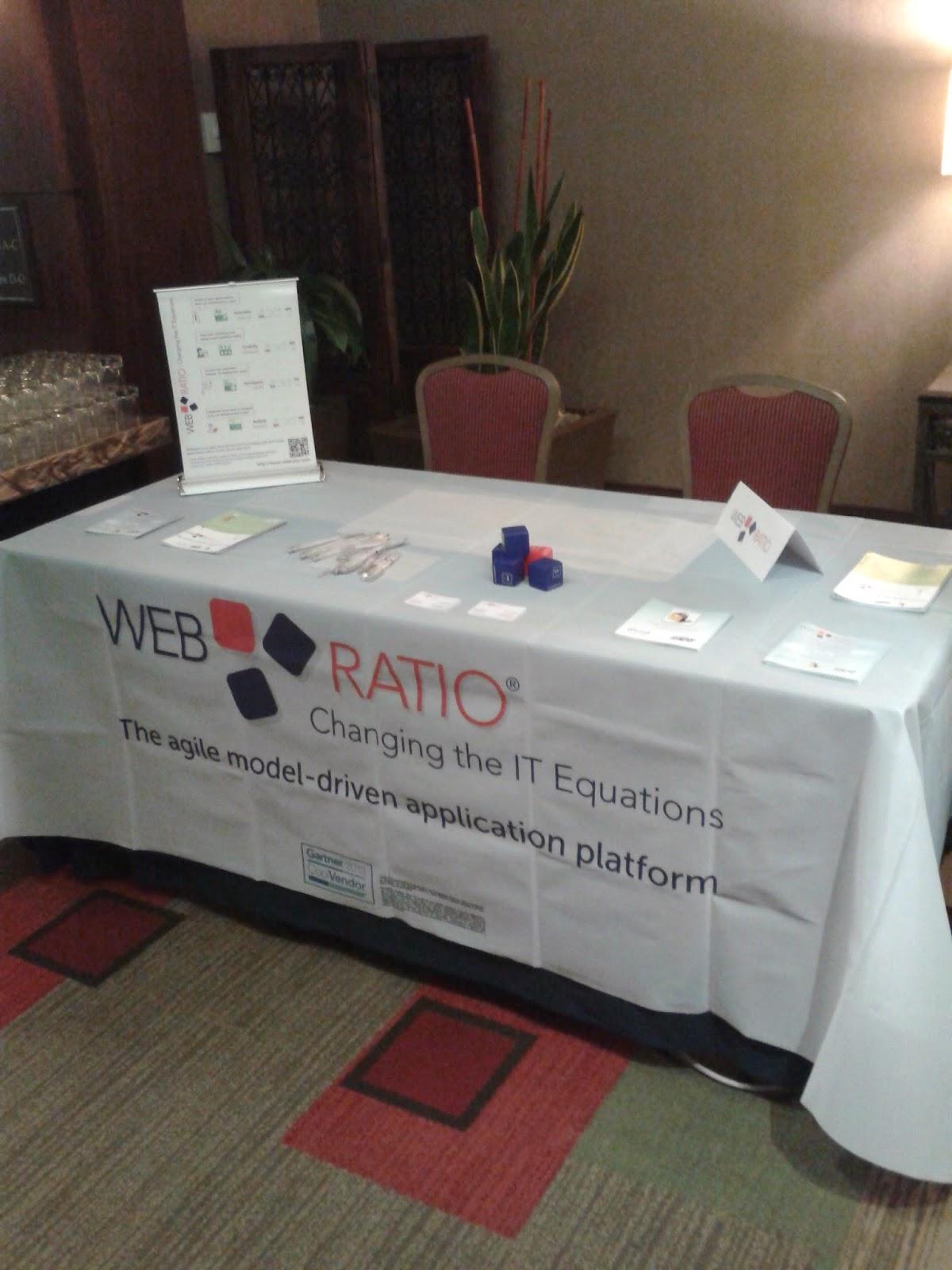 WebRatio booth