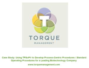 Torque Management - TPSoP Case Study