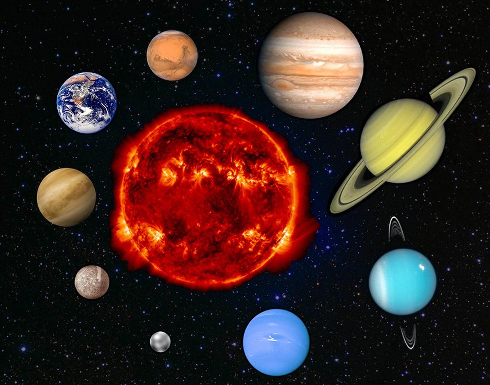 the nine planets - HD1200×945