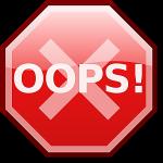 error handling oops