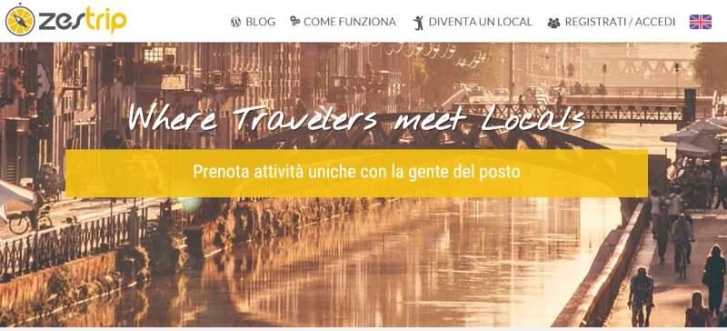 Zestrip Homepage