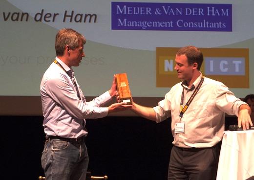 Trophy 2015 BPI Challenge awarded to Ube van der Ham