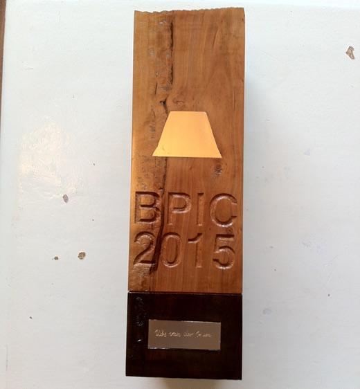 BPI Challenge Trophy 2015 (artwork by Felix Gnther)