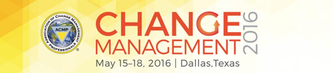 change management 2016