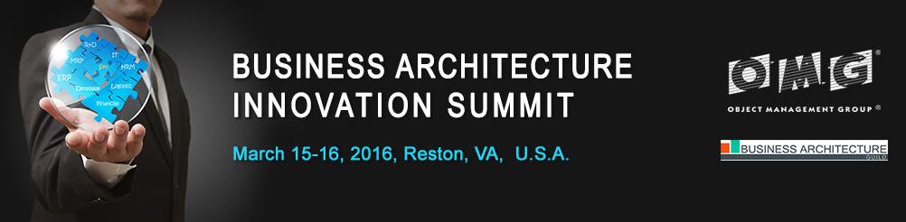 biz arch innov summit omg 2016