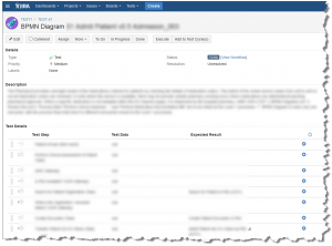 Test-case with test-steps in Zephyr on JIRA