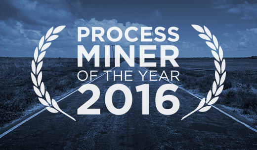 Process Miner of the Year 2016