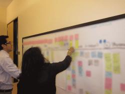 Prioritization at whiteboard