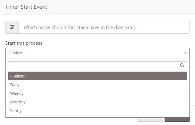 Timer-Start-Event-Select