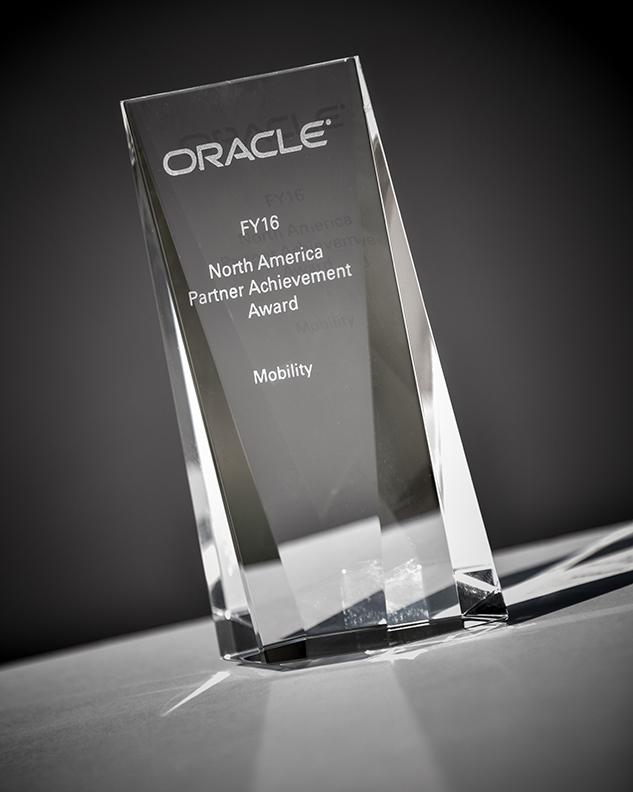 Oracle North America Partner Achievement Award