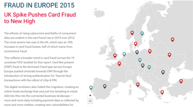European Fraud Map 2015