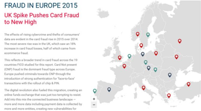 European Fraud Map 2015