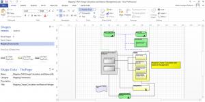 TAM Framework on Visio 2016