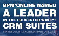 Bpm'online named a Leader in CRM Suites For Midsize Organizations by independent research firm