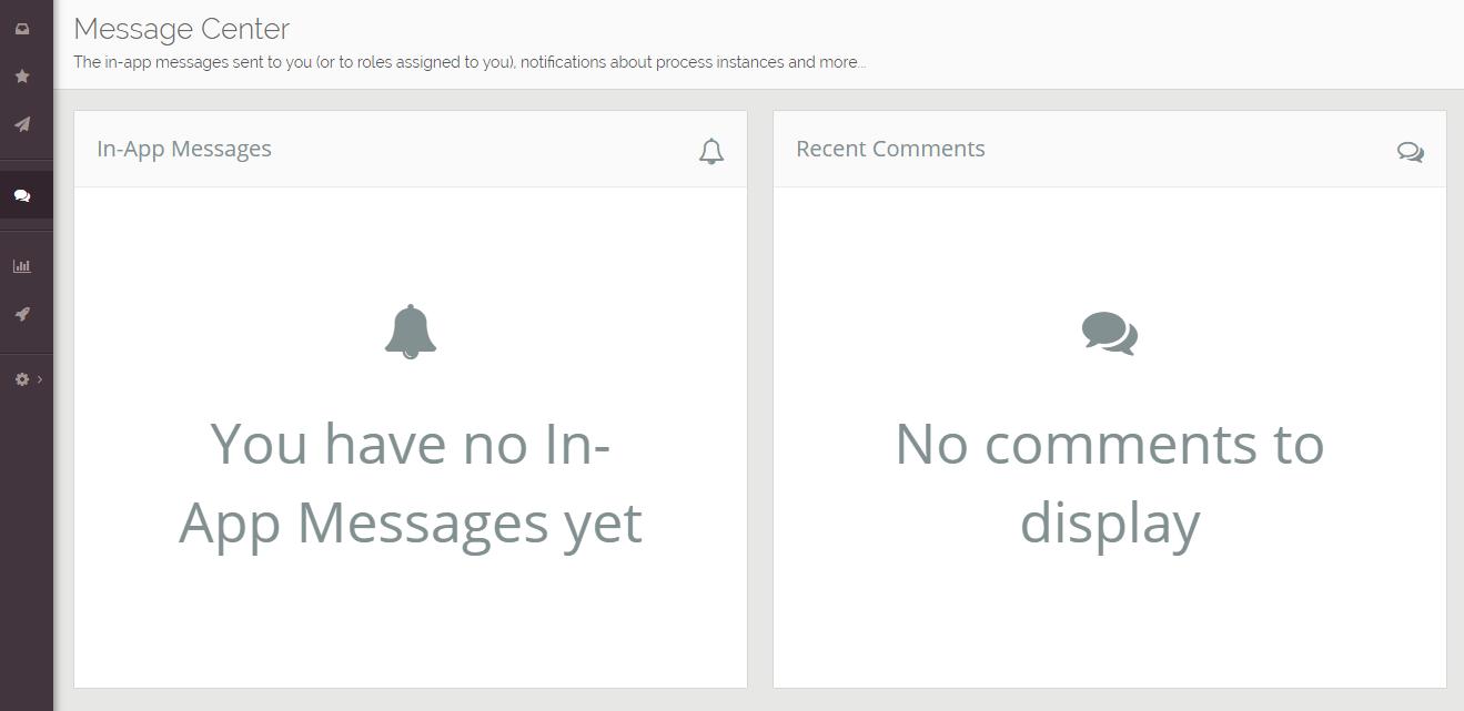 MessageCenter