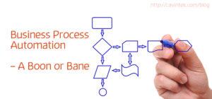 process automation - boon-bane