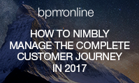 How to nimbly manage the complete customer journey in 2017 by aligning marketing, sales and service processes