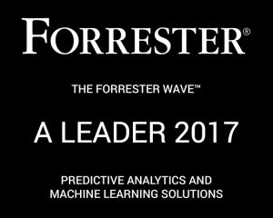 Forrester Graphic - Predictive Analytics Machine Learning Wave