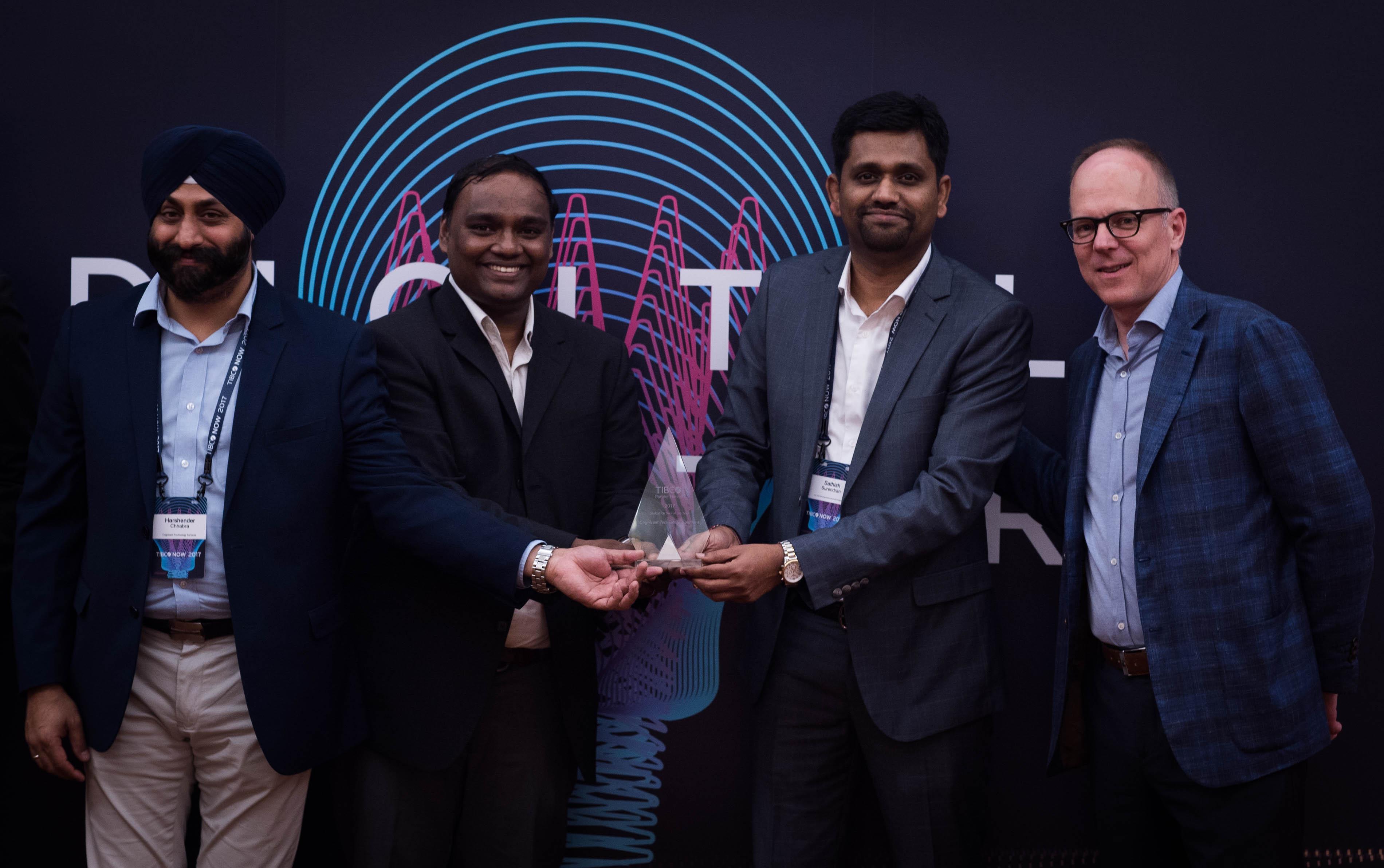 TIBCO Now Partner awards Cognizant 1
