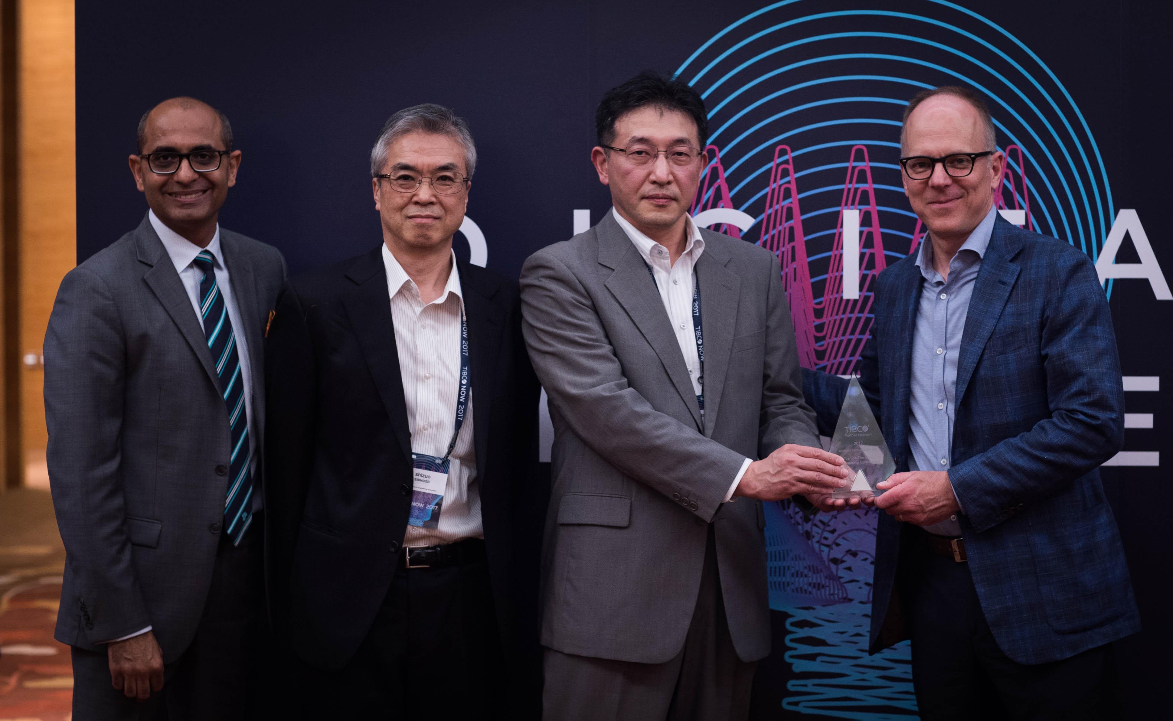 TIBCO Now Partner awards Toshiba 1