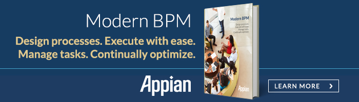 Modern BPM | Designprocesses. Execute with ease. Manage tasks. Continually optimize. | Appian