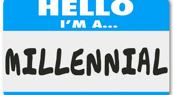 Millenials and Credit - I'm a Millennial Nametag