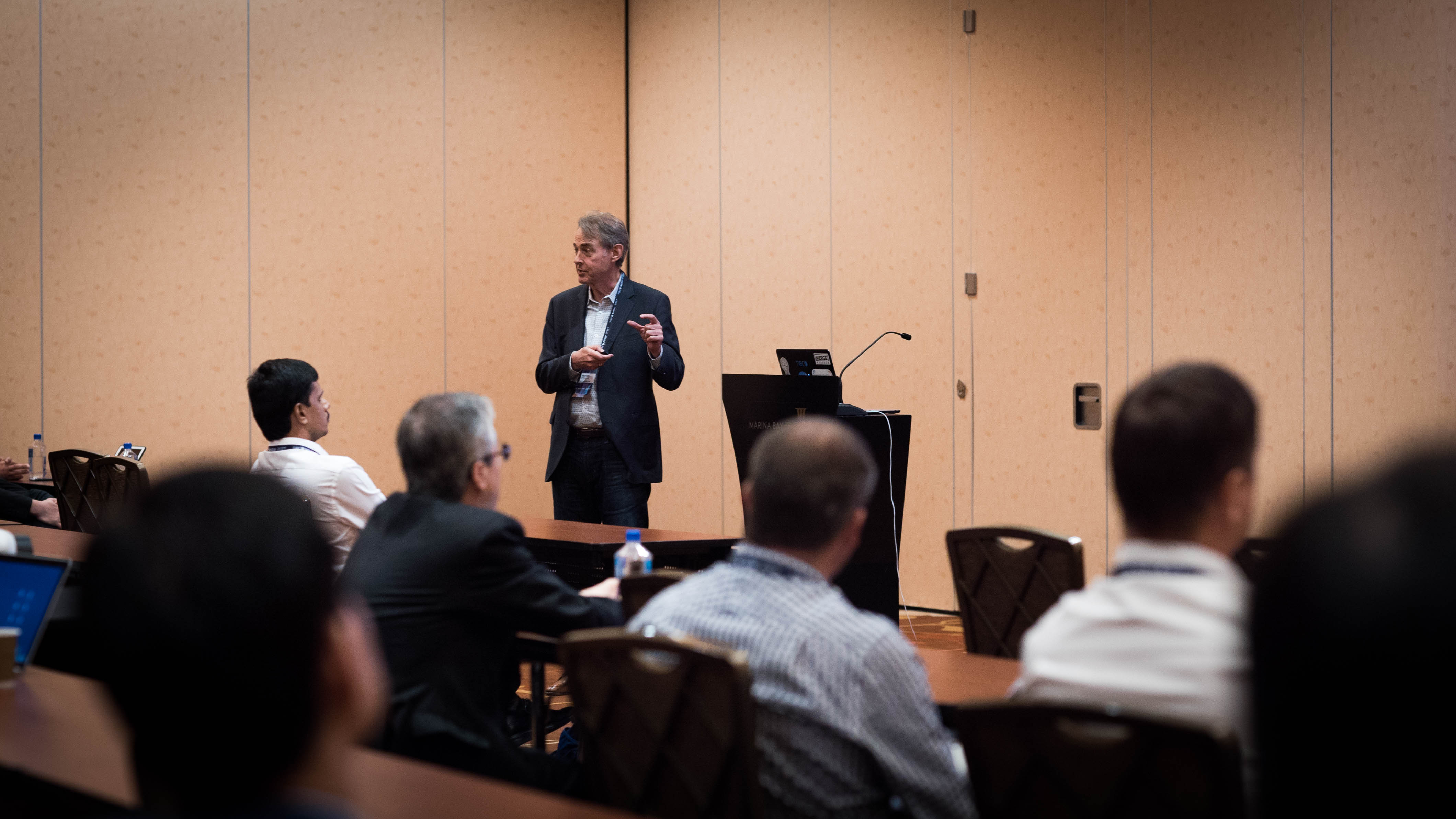 Michael O'Connell explains to a breakout session how to do more with Spotfire and go from a plain sheet to an analytics dashboard—in less than 7 minutes!