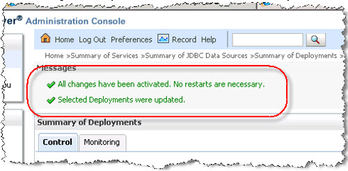Database Adapter Deployed Successfully