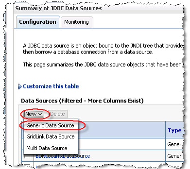 Generic Data Source