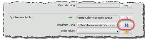 Transform mapping