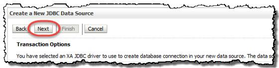 Create a New JDBC Database Source
