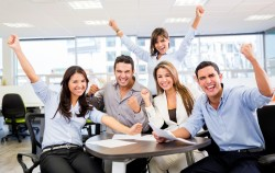Successful business team -f28ff70e4c634d93bd61081552e837f6973de62d