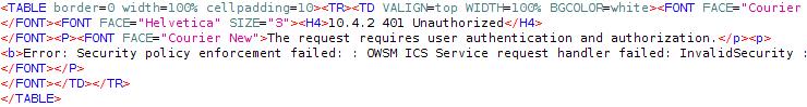 ICS - Requires Authorization