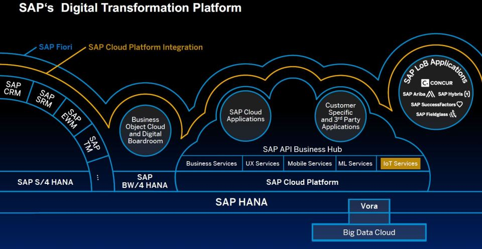 From Things To Outcomes Sap Leonardo For Digital