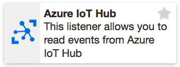 XMPro Azure IoT Hub