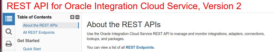 REST APIs Version 2