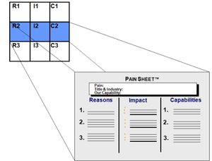 Linking Vision Process to Pain Sheet