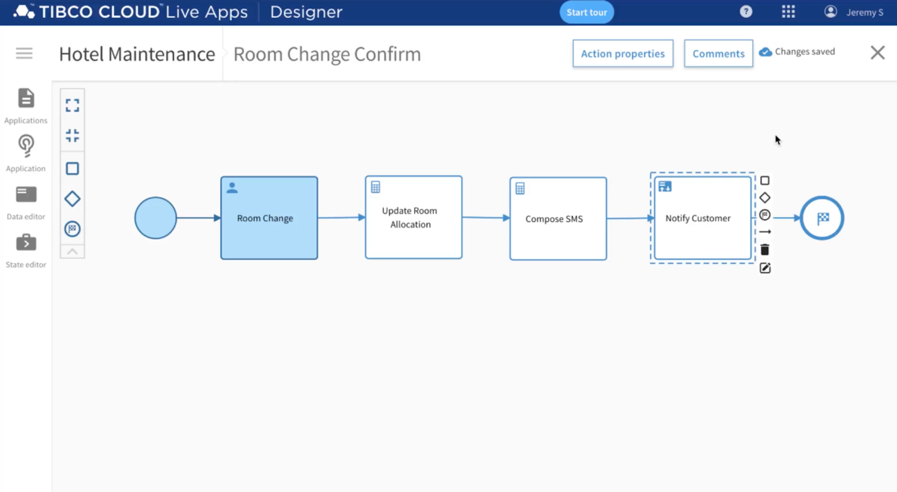 TIBCO Cloud Live Apps