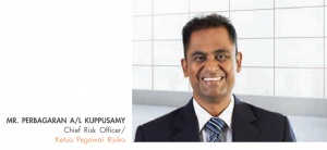 Perbagaran a/l K. Kuppusamy, chief risk officer at CGC