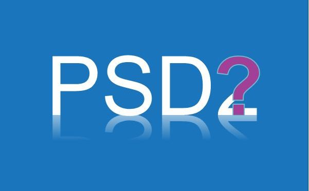 PSD2 with question mark