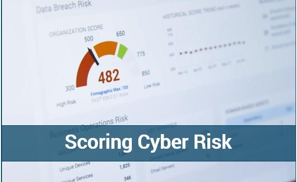 Scoring Cyber Risk