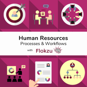 HR Automation. Workflows and Processes with Flokzu.