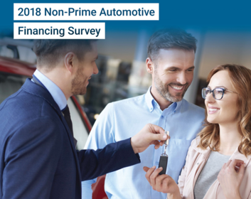 2018 non-prime auto financing survey