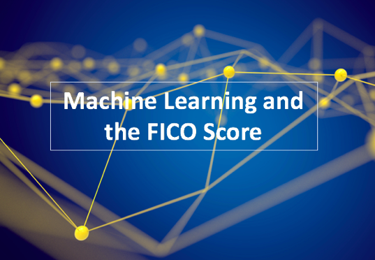 Machine Learning and the FICO Score
