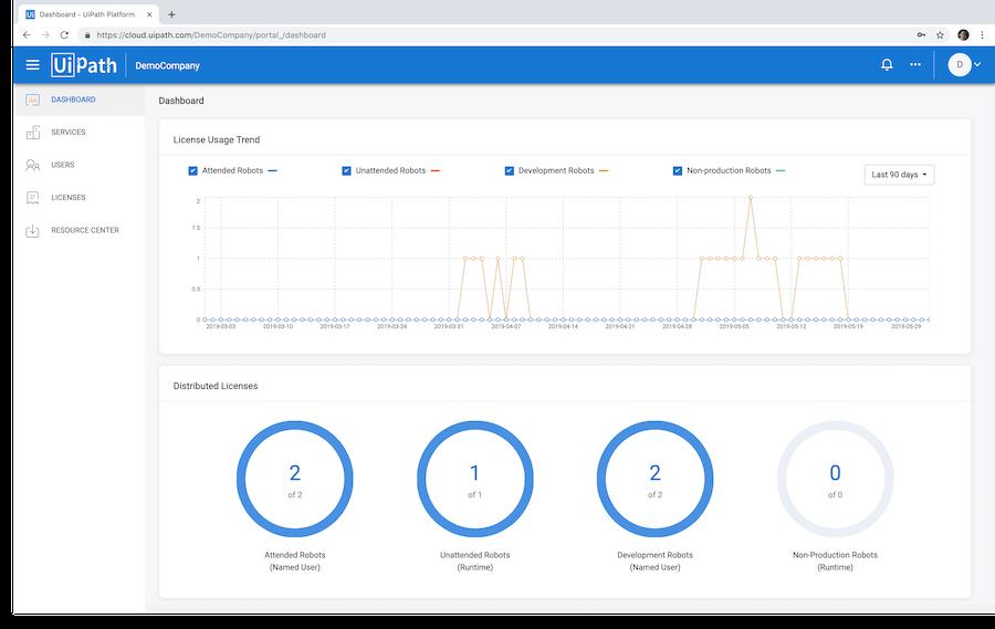cloud-rpa-platform-dashboard