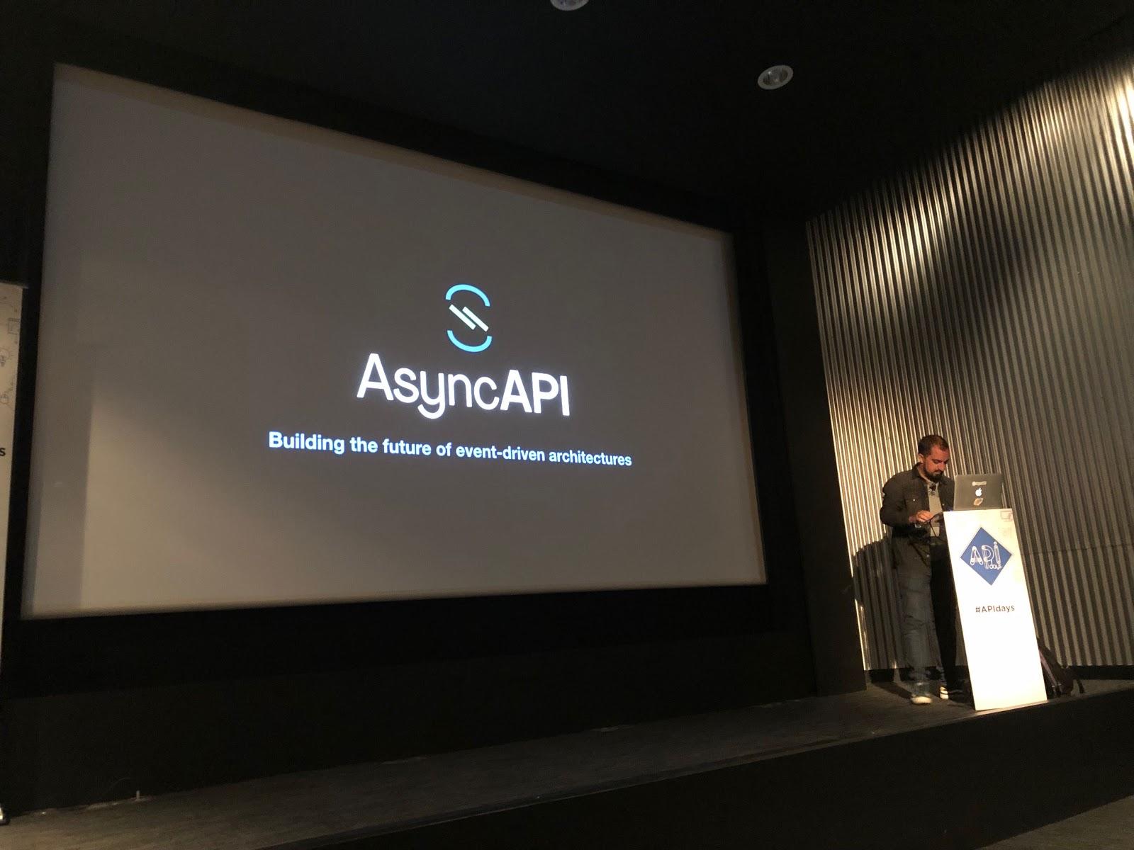 AsyncAPI founder Fran Mendez speaks at APIdays in San Francisco TIBCO Project Flogo