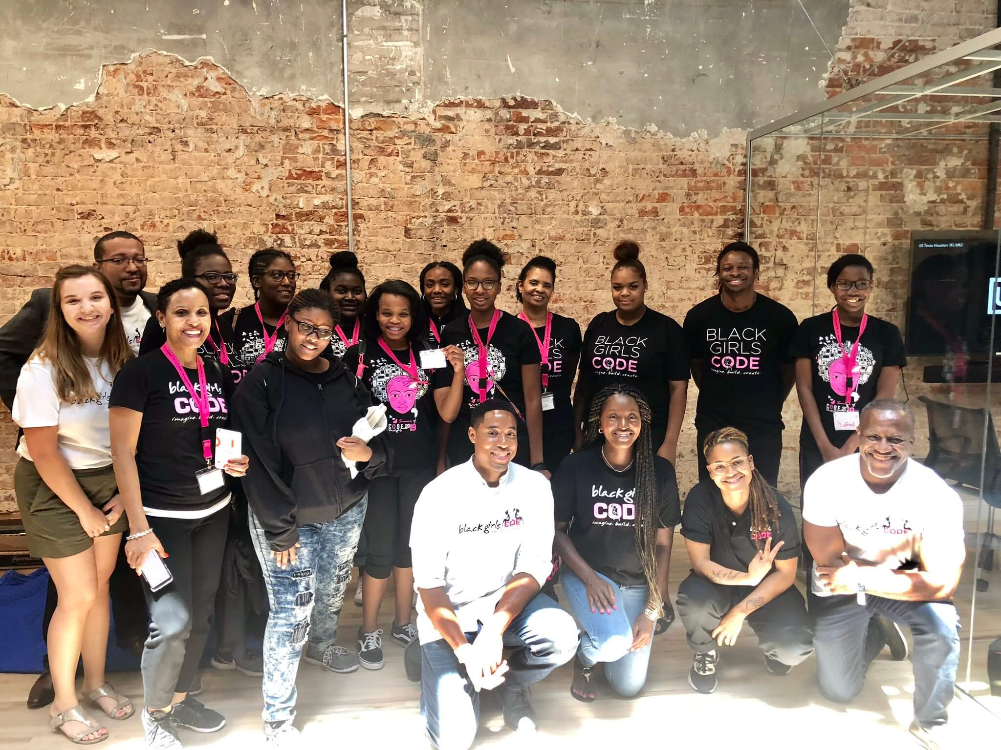 black girls code visit uipath houston office