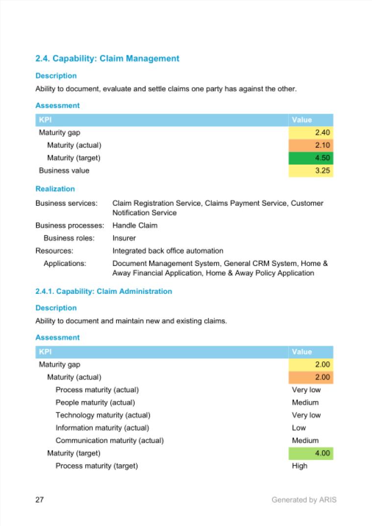 Capability Summary Document - Sample 3