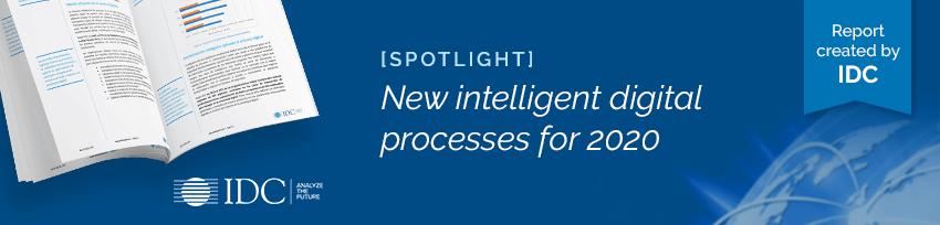 IDC New intelligent processes for 2020